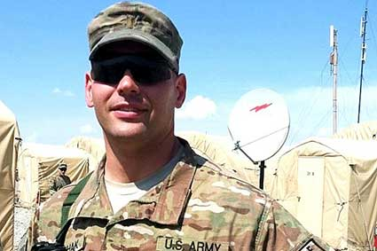 1LT A. Duchak – N.C. National Guard – Afghanistan and Egypt