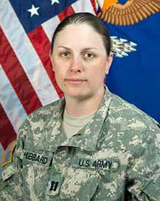 Mary H.  Army Captain / Medevac pilot