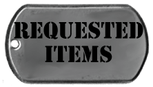 Requested Items - Support Our Soldiers